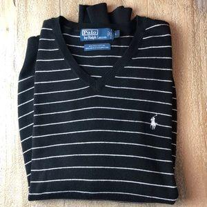Men's polo neck sweater puma cotton size L
